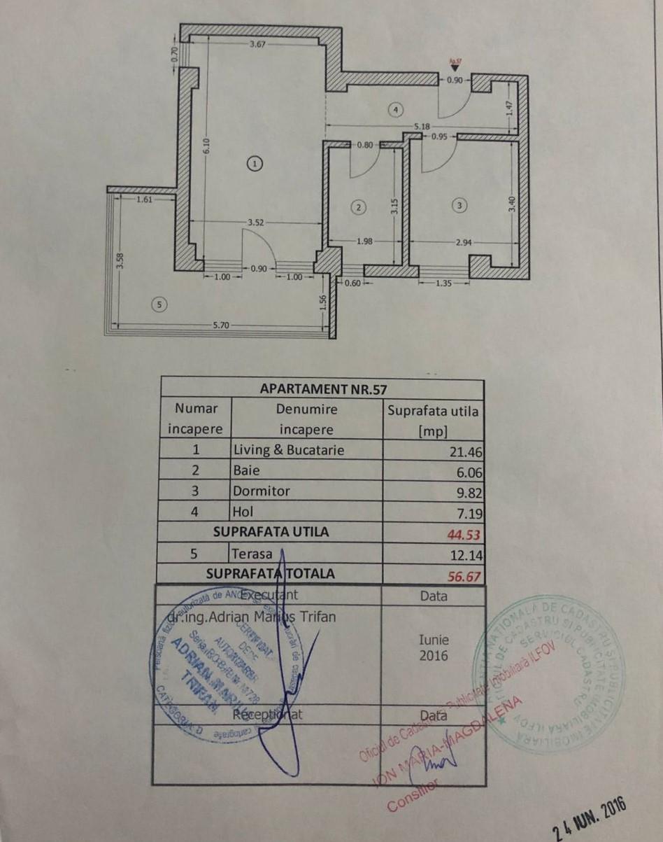 Apartament   2 camere   Militari   Militari Residence